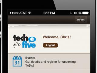 Tech After 5 App